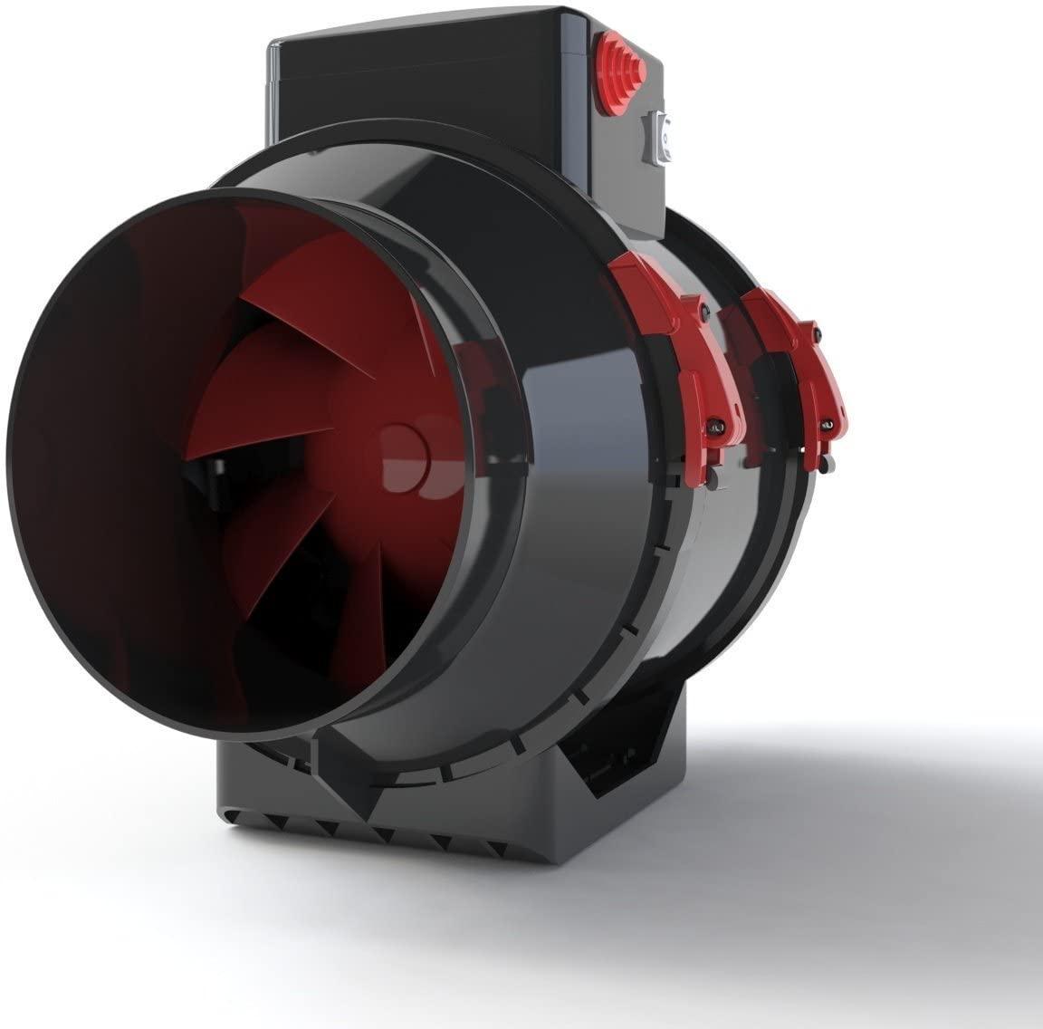Black Orchid BO-HF In Line Extractor Fan