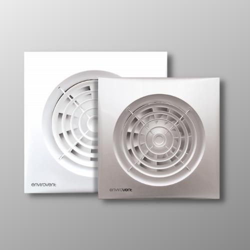 Envirovent Silent 100t Bathroom Extractor Fan Colour Options