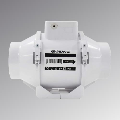 VENTS TT 100 Mixed Flow Inline Extractor Fan